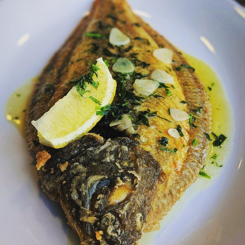 Få smag for fisk på en fiskerestaurant